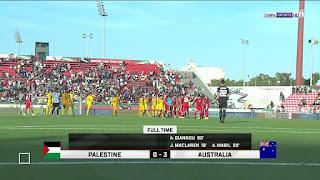 ملخص واهداف  فلسطين 0 - 3 استراليا فى كأس أمم آسيا 2019