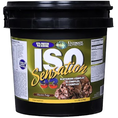 Ultimate Nutrition ISO Sensation 93 Protein, 5 lb