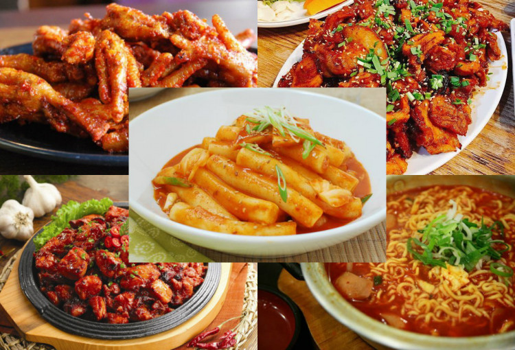 Rekomendasi 5 Makanan Korea Yang Super Pedas Syifa Aulia