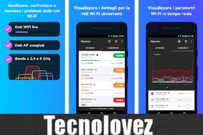 NetSpot - Applicazione per analizzare le reti wifi su android
