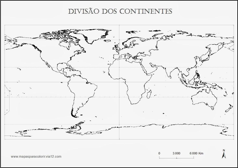 Placas Tectonicas Del Mundo Para Colorear Mapas De