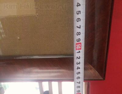 chiều cao 57 cm