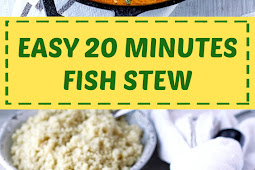 Easy 20 Minutes Fish Stew