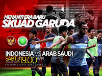 Indonesia vs Arab Saudi Pra Piala Asia 2015