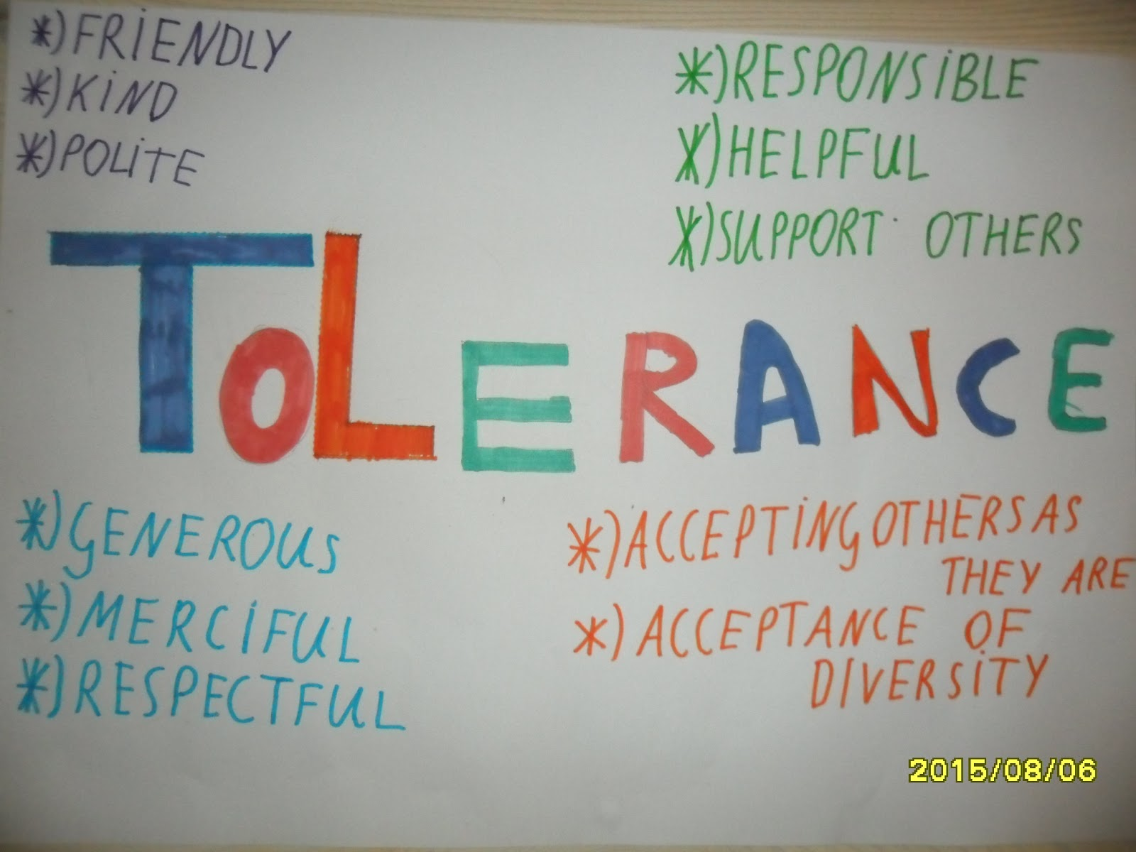 What Does Tolerance Mean For Kids