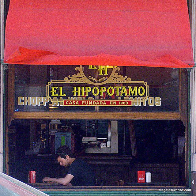 Café El Hipopotamo, San Telmo, Buenos Aires