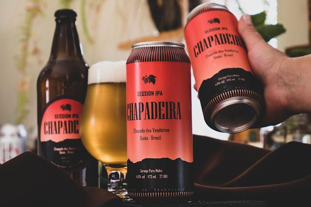 Cerveja Chapadeira Session Ipa