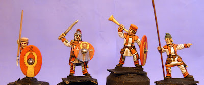Unarmoured Early Byzantines (Batch Two) At Last!!!