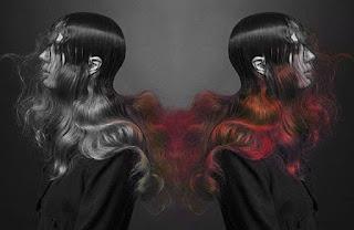 os elementos e a cor do cabelo