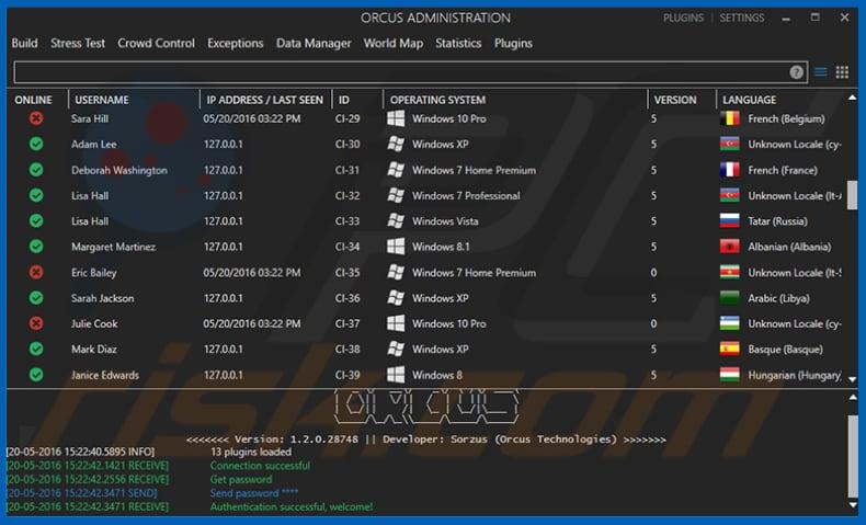 Orcus RAT malware