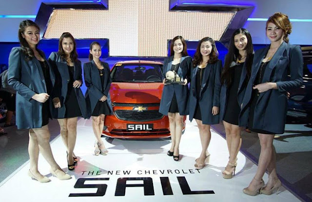 Chevrolet Sail at MIAS 2016