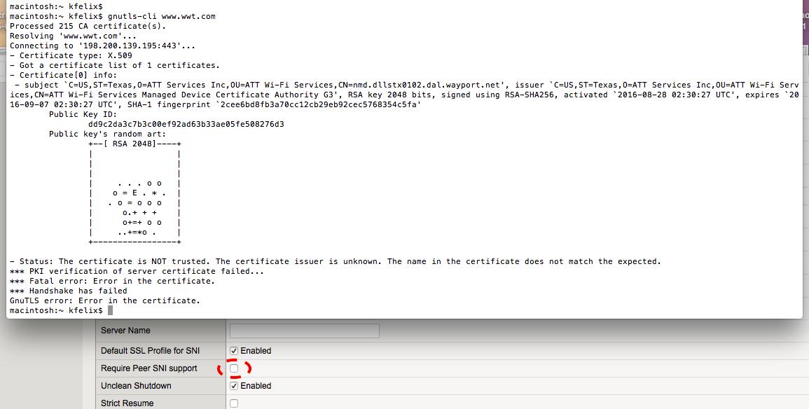 Ken Felix Security Blog Sni Checks For F5 Virtualservers