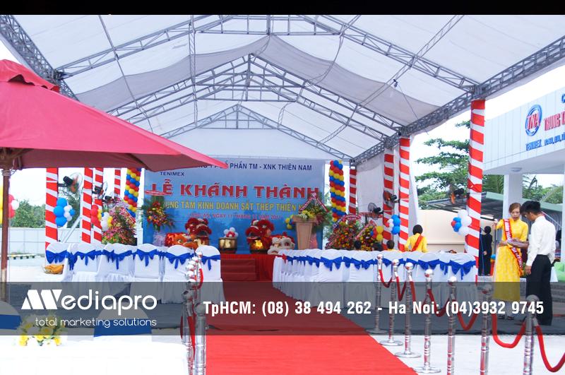 Cung Cấp thiết bị Âm Thanh, Ánh Sáng, Sân Khấu chương trình lễ khánh thành
