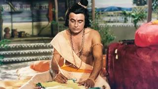 sanjay jog as 'Bharat' in ramanand sagar's 'ramayana'