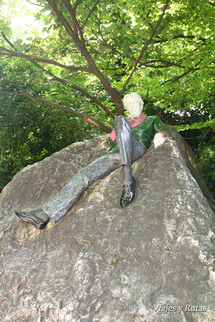 Merrion Square Park, Oscar Wilde, Dublin
