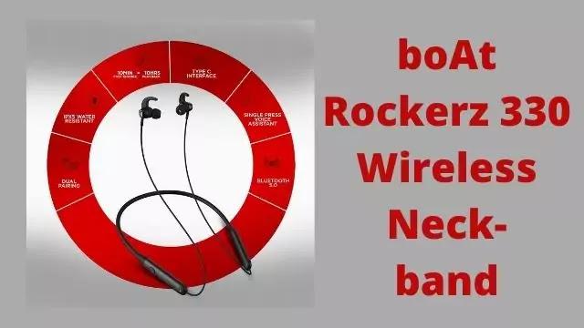 boAt Rockerz 330 Neckband