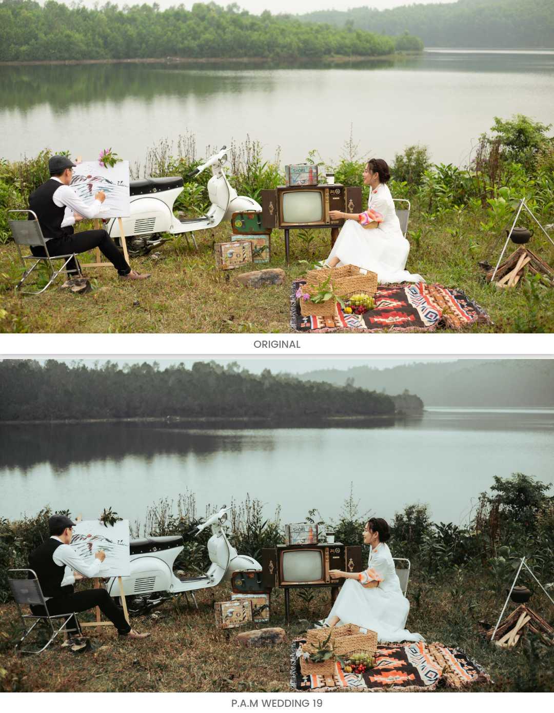 Ảnh cưới Vintage
