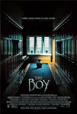 Poster The Boy 2016