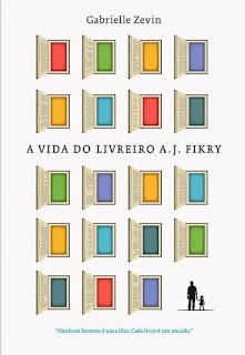 capa do livro A Vida do Livreiro A. J. Fikry