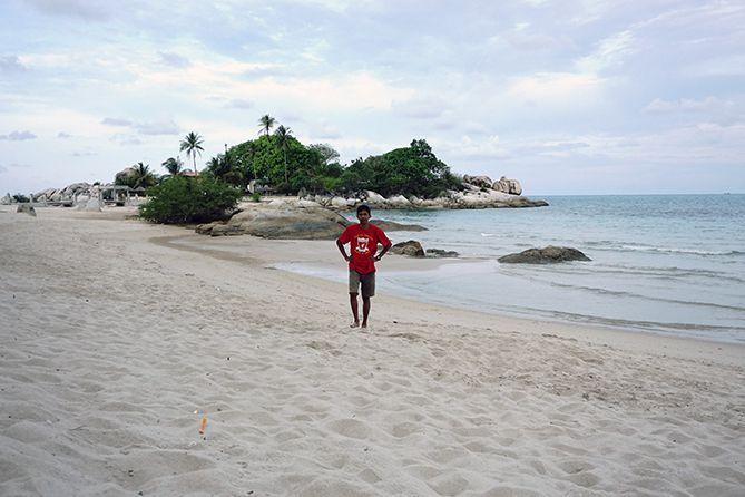Pantai Parai Tenggiri Bangka