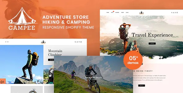 Best Adventure Store Hiking and Camping Shopify Theme