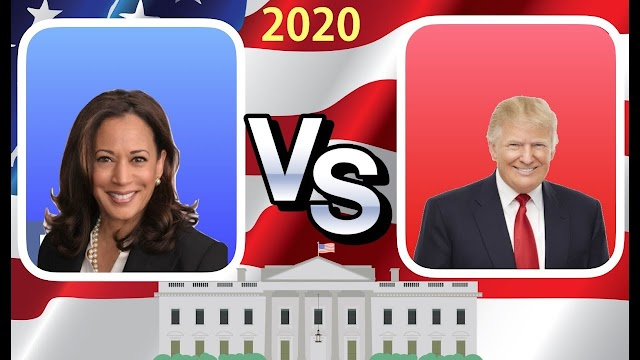 How Trump's rhetoric on Kamala Harris has changed -- and why