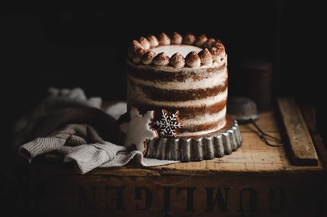 Lebkuchentorte, gingerbreadcake