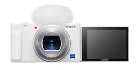 Sony Digital Camera ZV-1 in White