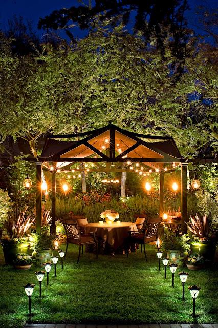 Best cheap garden lighting ideas