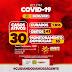 Jaguarari registra 03 novos casos de coronavírus no Boletim desta quinta-feira (20)