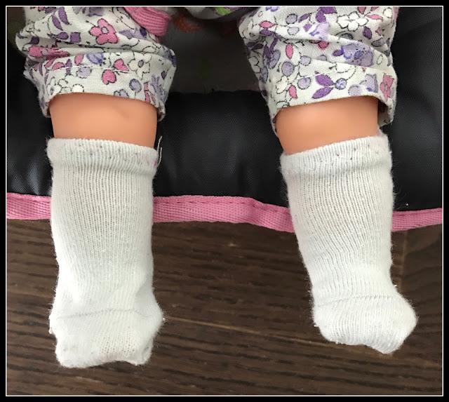 couture chaussette poupée corolle 36 cm
