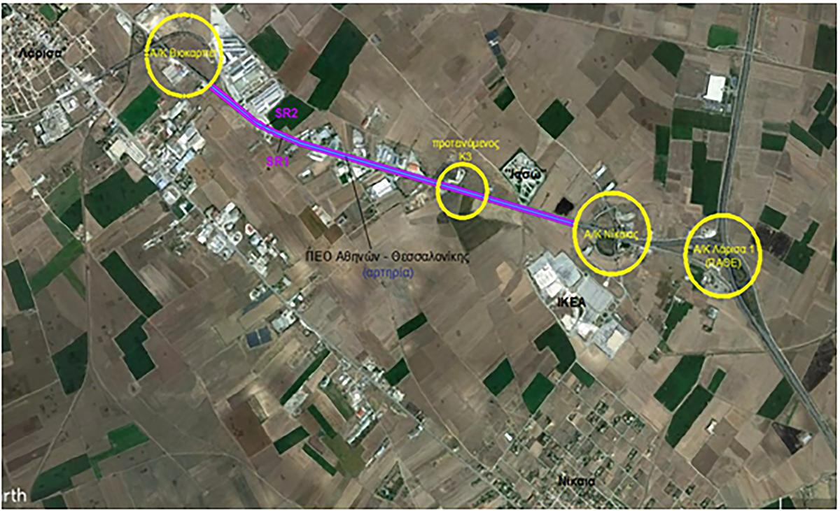 Τη μελέτη της κατασκευής του δρόμου από τον ανισόπεδο κόμβο της Βιοκαρπέτ έως τον ανισόπεδο κόμβο της Νίκαιας υπέγραψε ο Περιφερειάρχης Θεσσαλίας