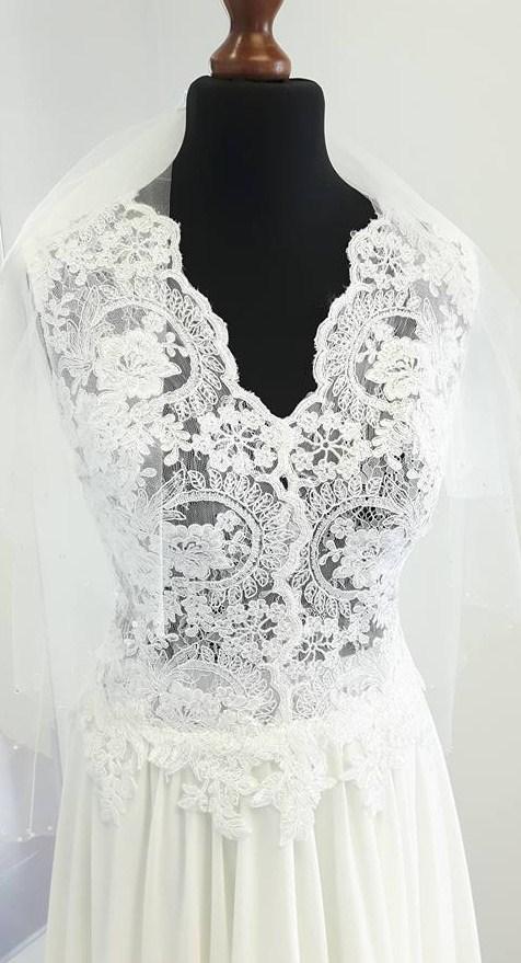 Suknie ślubne Vestido Delikatna I Zwiewna