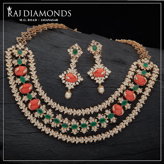 Exclusive Coral Diamond Sets by Raj Diamonds