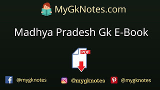 Madhya Pradesh Gk E-Book PDF in Hindi