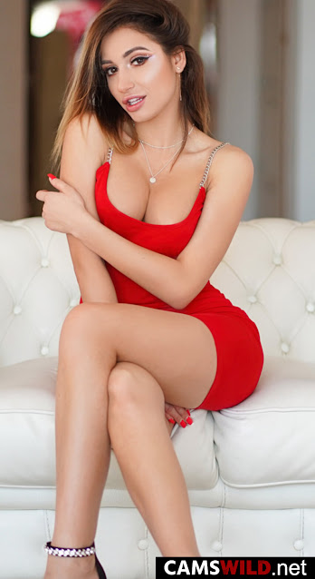 camswild-evelopez-brown-haired-babe-in-red-mini-dress