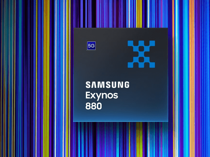 Samsung Exynos 880 with integrated 5G modem now official!