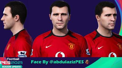 PES 2021 Faces Roy Keane by Abdulaziz