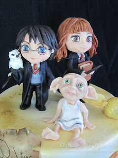 Harry Potter characters sugar paste
