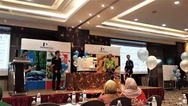 Attend Perkin Elmer Product Launch of New ICP-MS At Bangsar South City