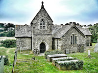 St Michael's church, Porthilly Cove, Rock, Cornwall