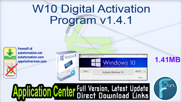 W10 Digital Activation Program v1.4.1