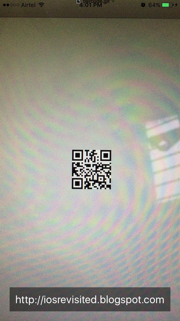 Scan BarCode & QRCode With iPhone Camera Using Swift 4(AVFoundation