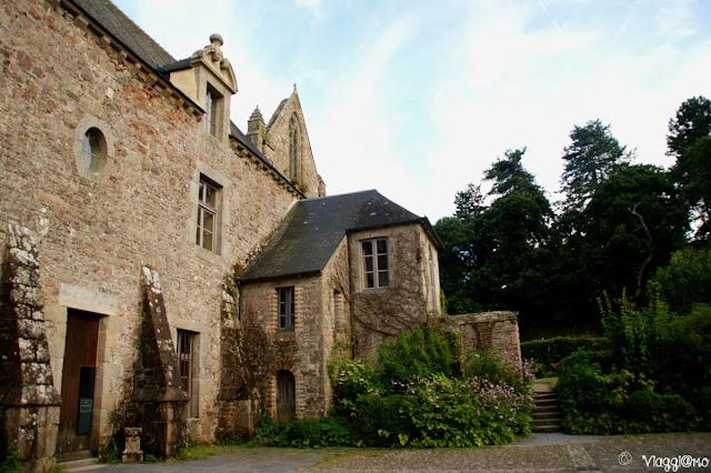 Parte del complesso monastico dell'Abbazia di Bauport