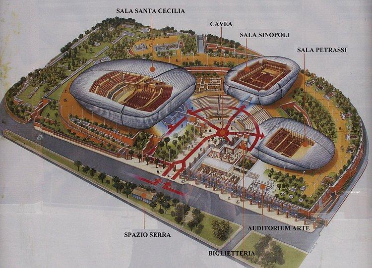 Mossangeles Auditorium Parco Della Musica Rome Italy