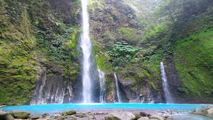 Air Terjun Telaga Dwi Warna Sibolangit, Sumatera Utara
