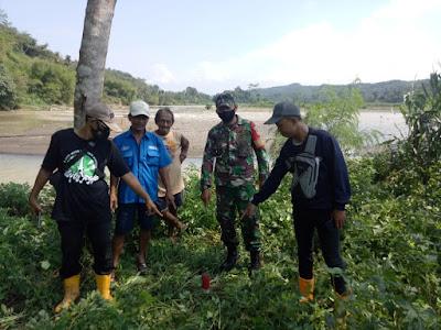 Tertib Administrasi, Batas Desa Ditandai Dengan Pemasangan Patok