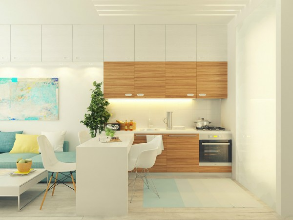 cozinha integrada conjugado