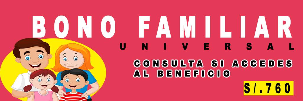 BONO UNIVERSAL FAMILIAR