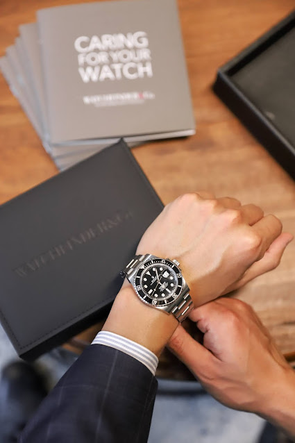 Leo Chan Rolex Submariner: Watchfinder & Co NYC Luxury Watch Showroom